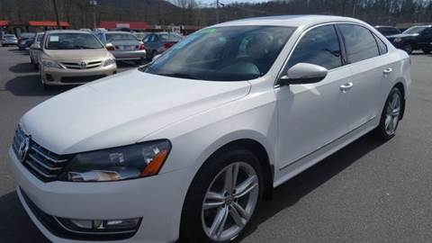 2012 Volkswagen Passat for sale at Driven Pre-Owned in Lenoir NC
