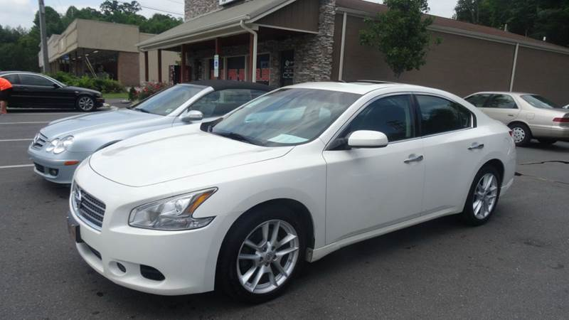 2011 Nissan Maxima 35 S 4dr Sedan In Lenoir Nc Driven Pre Owned