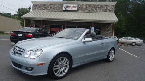 2008 Mercedes-Benz CLK for sale at Driven Pre-Owned in Lenoir NC