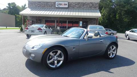 2007 Pontiac Solstice for sale at Driven Pre-Owned in Lenoir NC