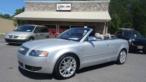 2006 Audi S4 for sale at Driven Pre-Owned in Lenoir NC