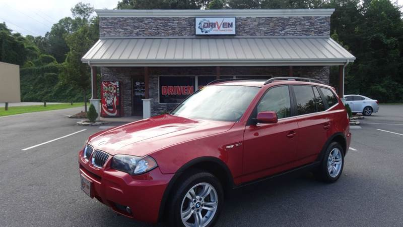 2006 Bmw X3 3 0i Awd 4dr Suv In Lenoir Nc Driven Pre Owned