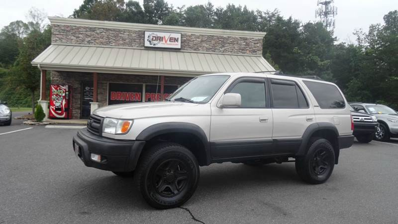 713cfd258e30 1999 Toyota 4Runner Limited 4dr 4WD SUV In Lenoir NC - Driven Pre-Owned