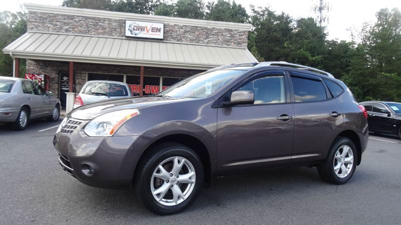 2008 nissan rogue sl awd crossover 4dr in lenoir nc - driven pre-owned