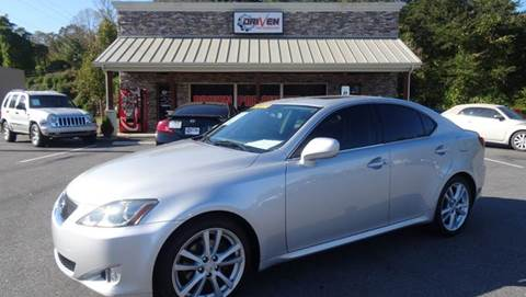 2007 Lexus IS 250 for sale at Driven Pre-Owned in Lenoir NC