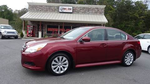2011 Subaru Legacy for sale at Driven Pre-Owned in Lenoir NC