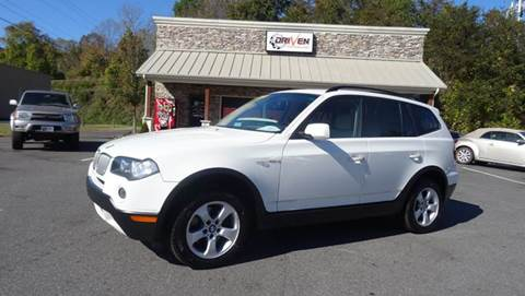 2007 BMW X3 for sale at Driven Pre-Owned in Lenoir NC