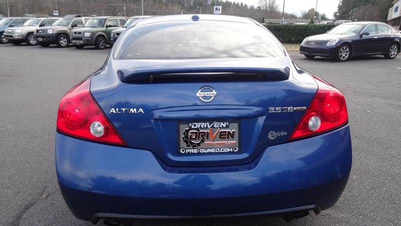 2008 Nissan Altima 35 Se 2dr Coupe Cvt In Lenoir Nc Driven Pre Owned