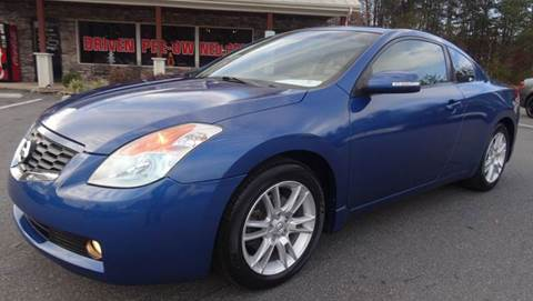 2008 Nissan Altima for sale at Driven Pre-Owned in Lenoir NC