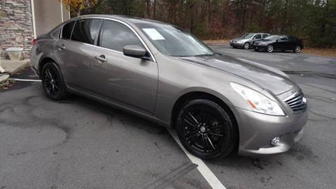 2010 Infiniti G37 Sedan for sale at Driven Pre-Owned in Lenoir NC