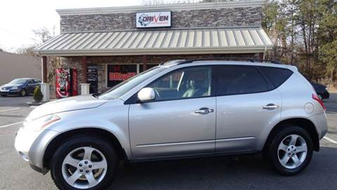 2005 Nissan Murano for sale at Driven Pre-Owned in Lenoir NC