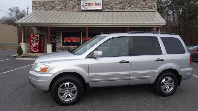 2005 Honda Pilot EX L 4dr 4WD SUV W/Leather And Entertainment System