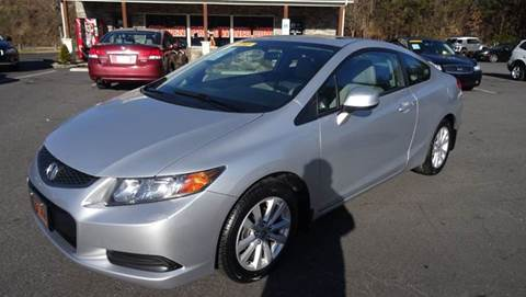 2012 Honda Civic for sale at Driven Pre-Owned in Lenoir NC