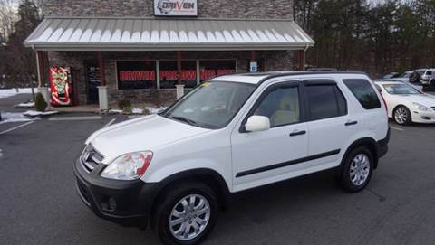 2006 Honda CR-V for sale at Driven Pre-Owned in Lenoir NC
