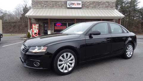 2012 Audi A4 for sale at Driven Pre-Owned in Lenoir NC