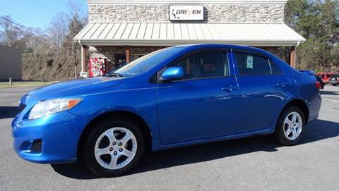 2010 Toyota Corolla for sale at Driven Pre-Owned in Lenoir NC
