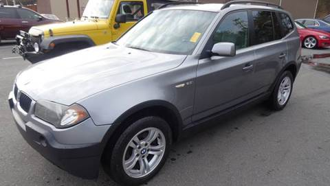 2004 BMW X3 for sale at Driven Pre-Owned in Lenoir NC