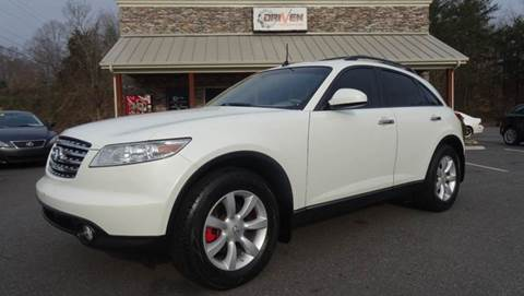 2005 Infiniti FX35 for sale at Driven Pre-Owned in Lenoir NC