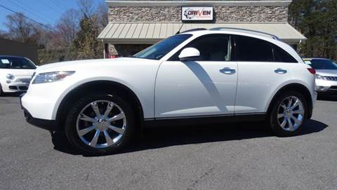 2004 Infiniti FX45 for sale at Driven Pre-Owned in Lenoir NC