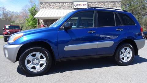 2002 Toyota RAV4 for sale at Driven Pre-Owned in Lenoir NC