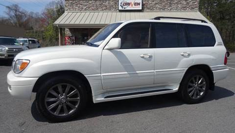 2001 Lexus LX 470 for sale at Driven Pre-Owned in Lenoir NC
