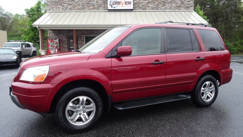 2004 Honda Pilot EX L 4dr 4WD SUV W/Leather And Entertainment System