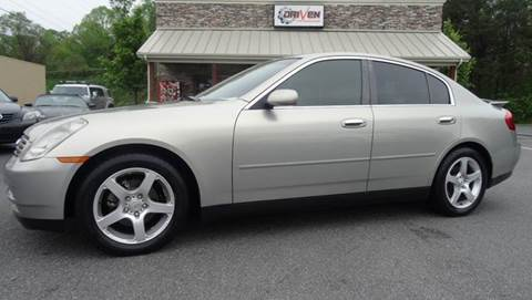 2004 Infiniti G35 for sale at Driven Pre-Owned in Lenoir NC