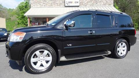 2009 Nissan Armada for sale at Driven Pre-Owned in Lenoir NC