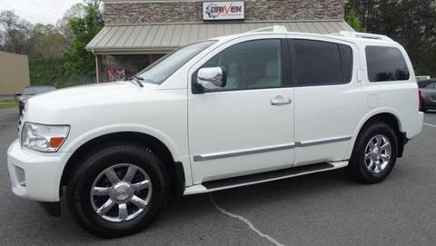 2004 Infiniti QX56 for sale at Driven Pre-Owned in Lenoir NC