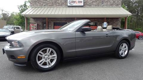 2011 Ford Mustang for sale at Driven Pre-Owned in Lenoir NC