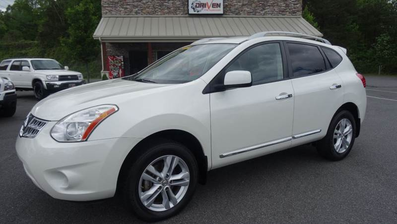 2012 Nissan Rogue SV w/SL Package 4dr Crossover In Lenoir ...
