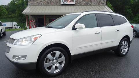 2012 Chevrolet Traverse for sale at Driven Pre-Owned in Lenoir NC