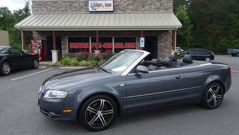 2008 Audi A4 for sale at Driven Pre-Owned in Lenoir NC