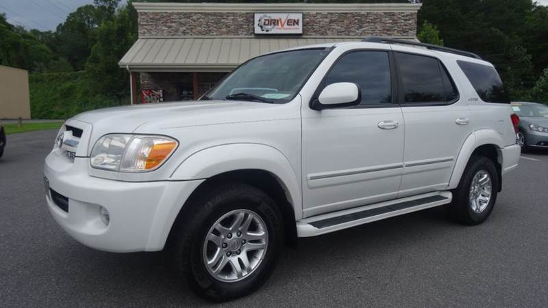 2006 toyota sequoia limited 4dr suv 4wd in lenoir nc driven pre owned. Black Bedroom Furniture Sets. Home Design Ideas