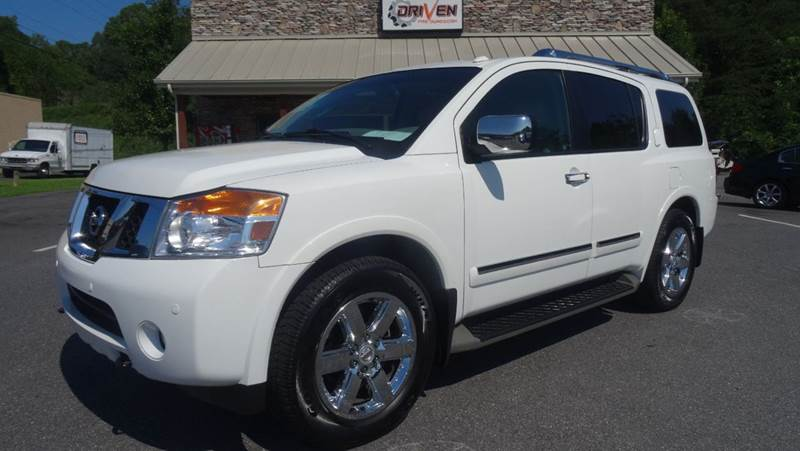2010 Nissan Armada Platinum 4x2 4dr Suv In Lenoir Nc Driven Pre Owned