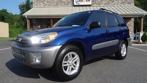 2003 Toyota RAV4 for sale at Driven Pre-Owned in Lenoir NC