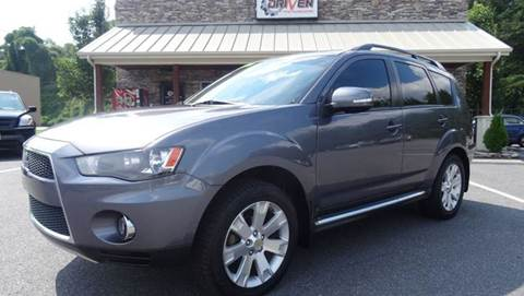 2010 Mitsubishi Outlander for sale at Driven Pre-Owned in Lenoir NC