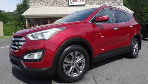 2013 Hyundai Santa Fe Sport for sale at Driven Pre-Owned in Lenoir NC