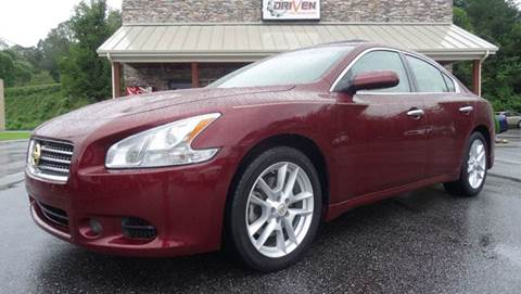 2009 Nissan Maxima for sale at Driven Pre-Owned in Lenoir NC