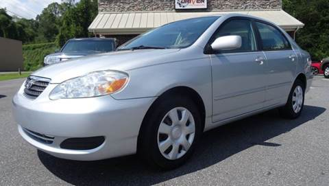 2007 Toyota Corolla for sale at Driven Pre-Owned in Lenoir NC