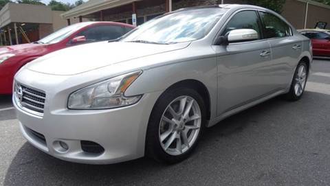 2010 Nissan Maxima for sale at Driven Pre-Owned in Lenoir NC