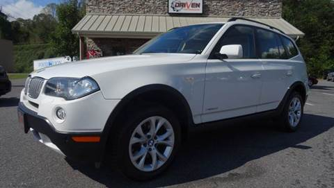2009 BMW X3 for sale at Driven Pre-Owned in Lenoir NC