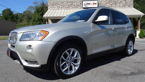 2012 BMW X3 for sale at Driven Pre-Owned in Lenoir NC
