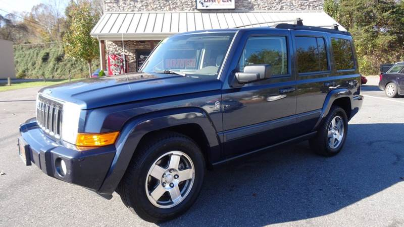 2009 Jeep Commander Sport 4x4 4dr SUV In Lenoir NC ...
