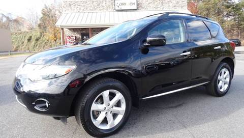 2009 Nissan Murano for sale at Driven Pre-Owned in Lenoir NC