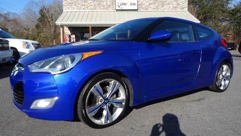 2012 Hyundai Veloster for sale at Driven Pre-Owned in Lenoir NC