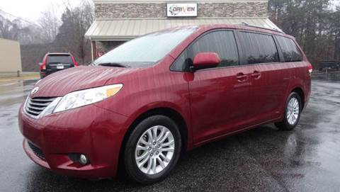 2012 Toyota Sienna for sale at Driven Pre-Owned in Lenoir NC