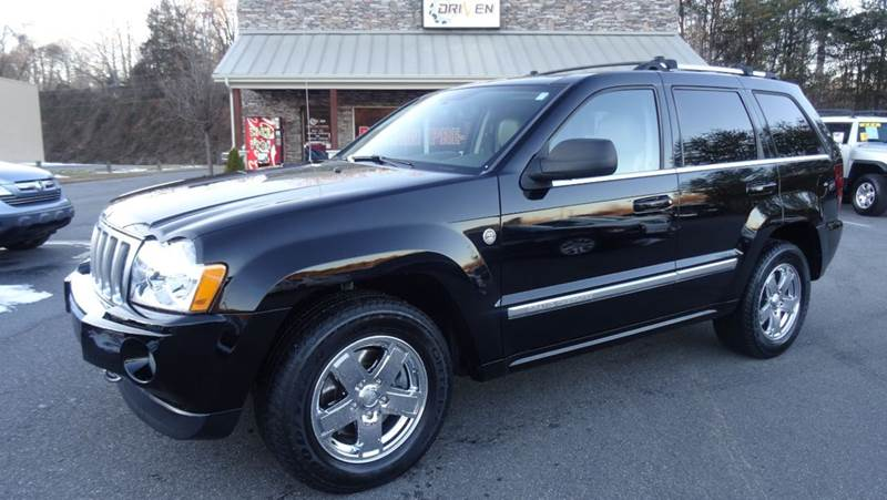 Exceptional 2006 Jeep Grand Cherokee Overland 4dr SUV 4WD   Lenoir NC