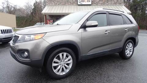 2011 Kia Sorento for sale at Driven Pre-Owned in Lenoir NC