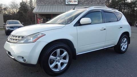 2006 Nissan Murano for sale at Driven Pre-Owned in Lenoir NC